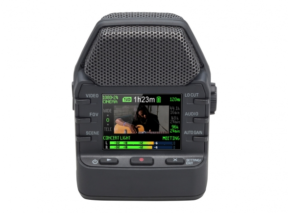 Gravadores Portáteis Zoom Q2n