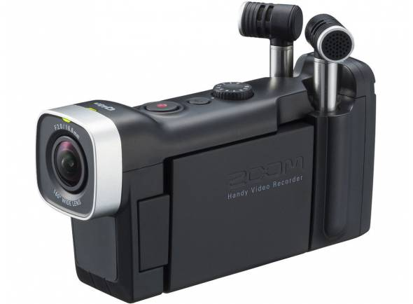 Gravadores Portáteis Zoom Q4N