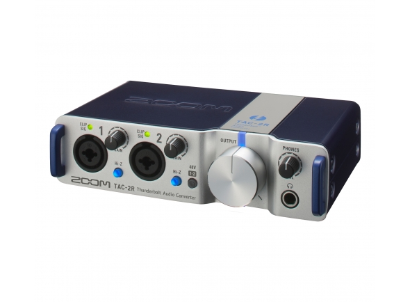 Interfaces de áudio Thunderbolt Zoom TAC-2R