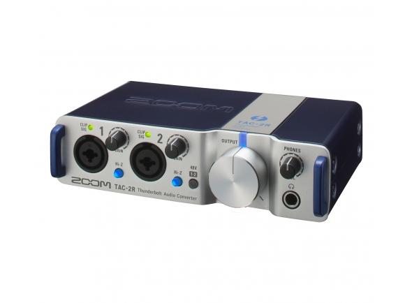 Interfaces de áudio Thunderbolt Zoom TAC-2R