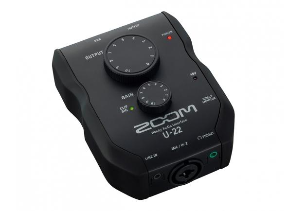 Interface Áudio USB Zoom U-22