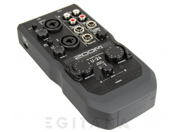 Interface Áudio USB/Interface Áudio USB Zoom U-24