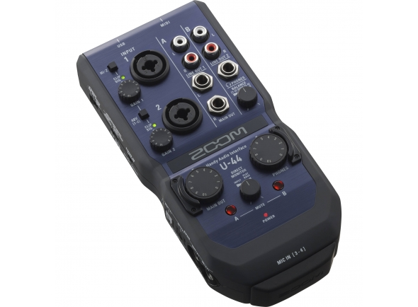 Interface Áudio USB Zoom U-44 Handy Audio Interface